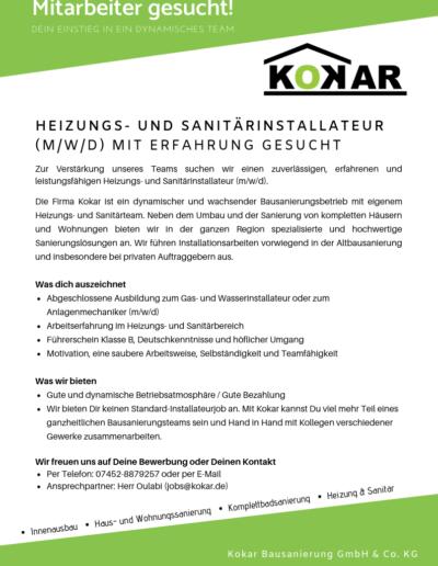 Heizungs- und Sanitärinstallateur (3)