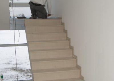 Innenausbau-Treppenhaus-Podest