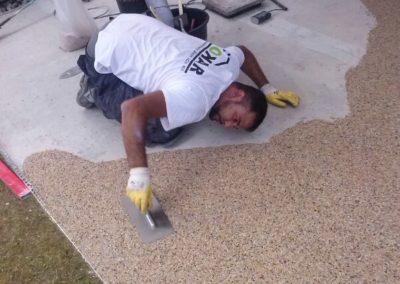 Terrassensanierung-Steinteppich